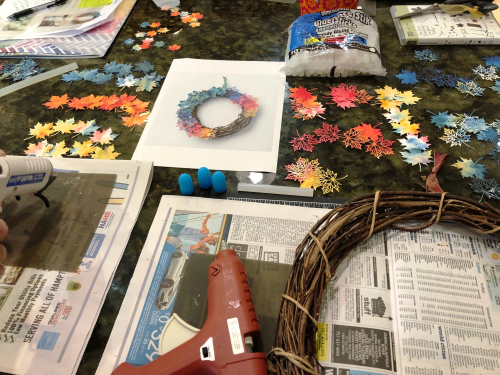 Wreath project 1