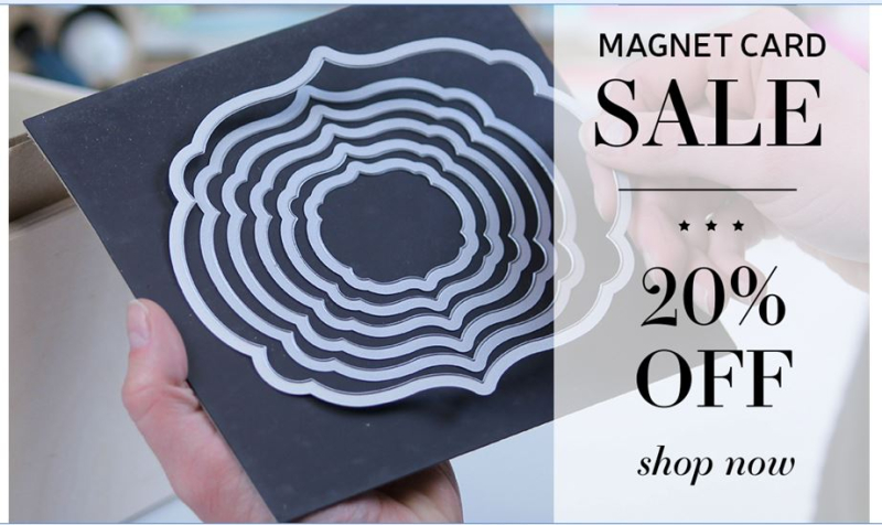 Magnet Cards on sale Nov 4