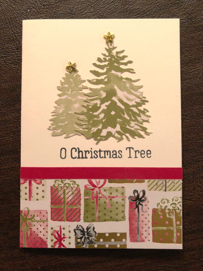 Card w tree and gifts