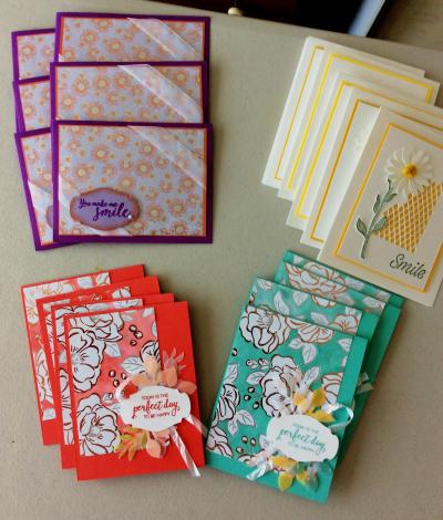 Melissa SAB cards