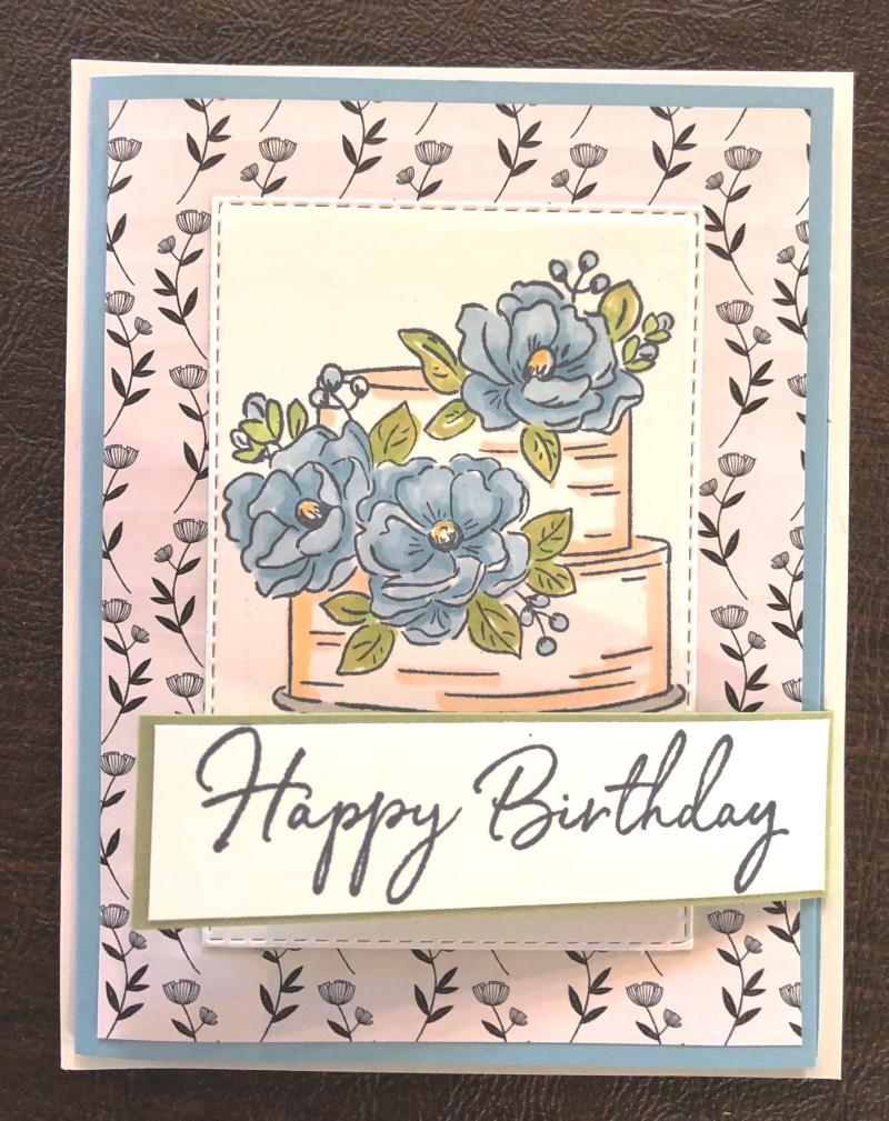 Birthday Card w DSP 1