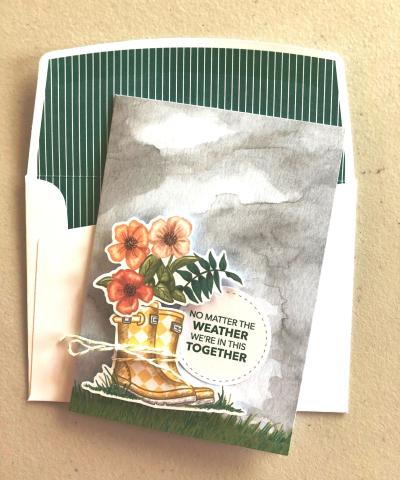 Cloudy card