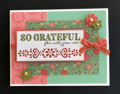 Sample card from swap 1