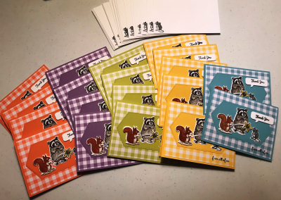 Kelly's cute animal cards