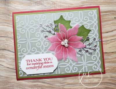 Poinsettia paper