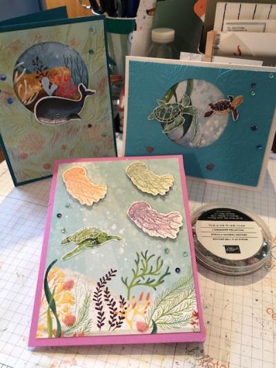 Janie's cards July