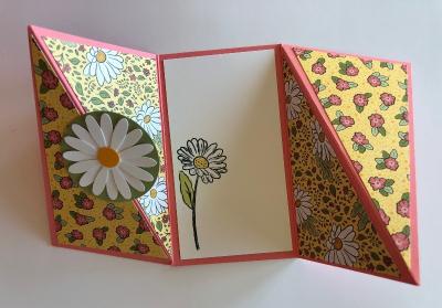 Twisted Gate Fold Card 1