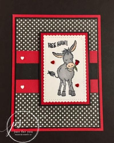 Donkey Valentine