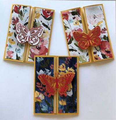 Fancy Fold Card 1